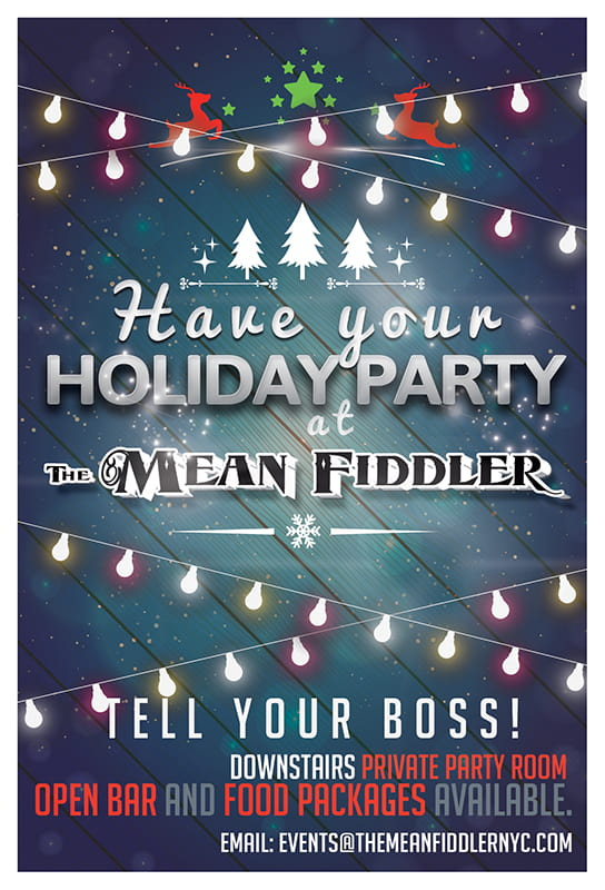 HolidayParty_TheMeanFiddlers-min Calendar Events - Live Music Times Square Karaoke Bar