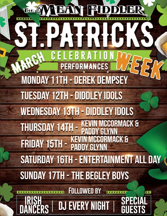 St Patrick Week Celebration
